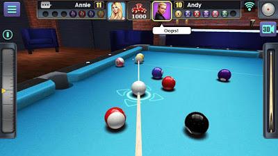 3D Pool Ball
