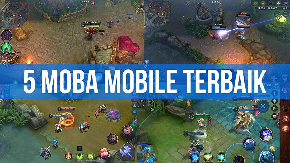 5 Daftar Game MOBA Mobile Terbaik dan Seru