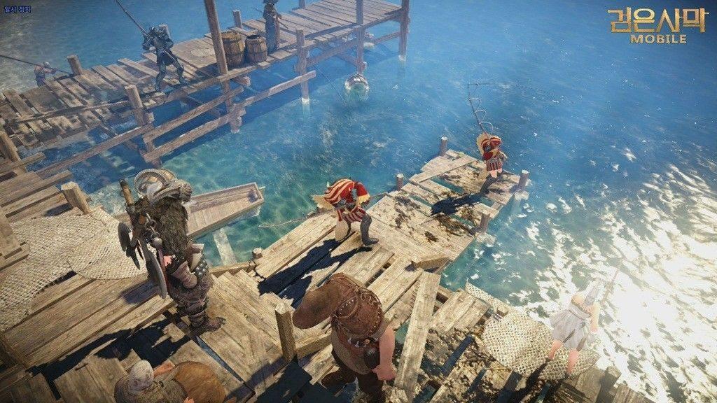 Black Desert Online Mobile tetap mengusung tema MMORPG